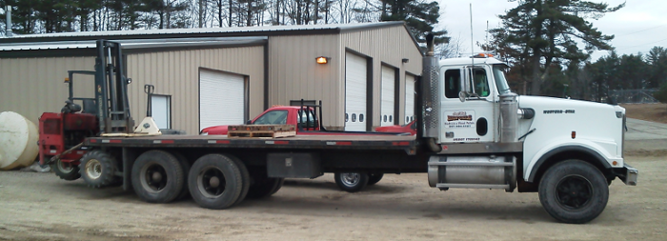Our specialized delivery equipment can place your pellets or briqs just about anywhere.